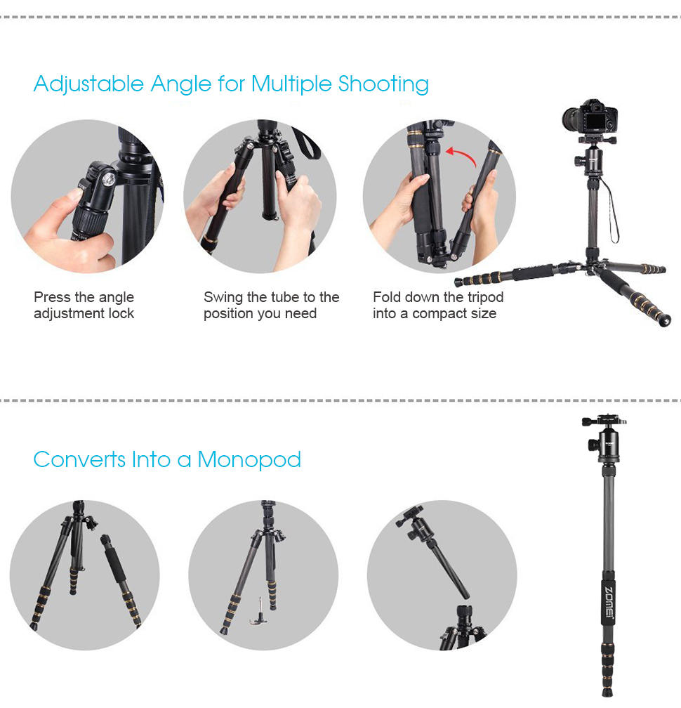 lightweight travel tripod