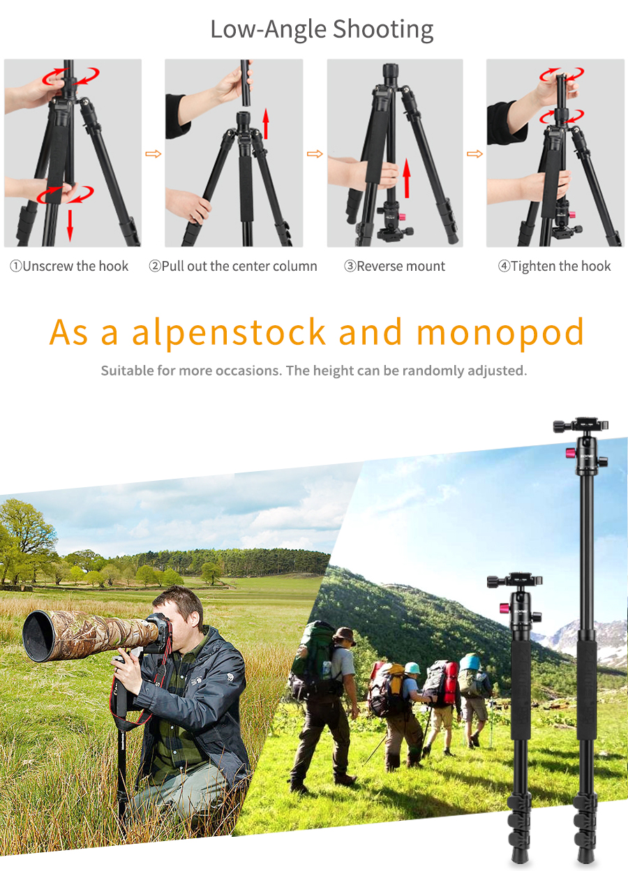 travel tripod monopod 10 –