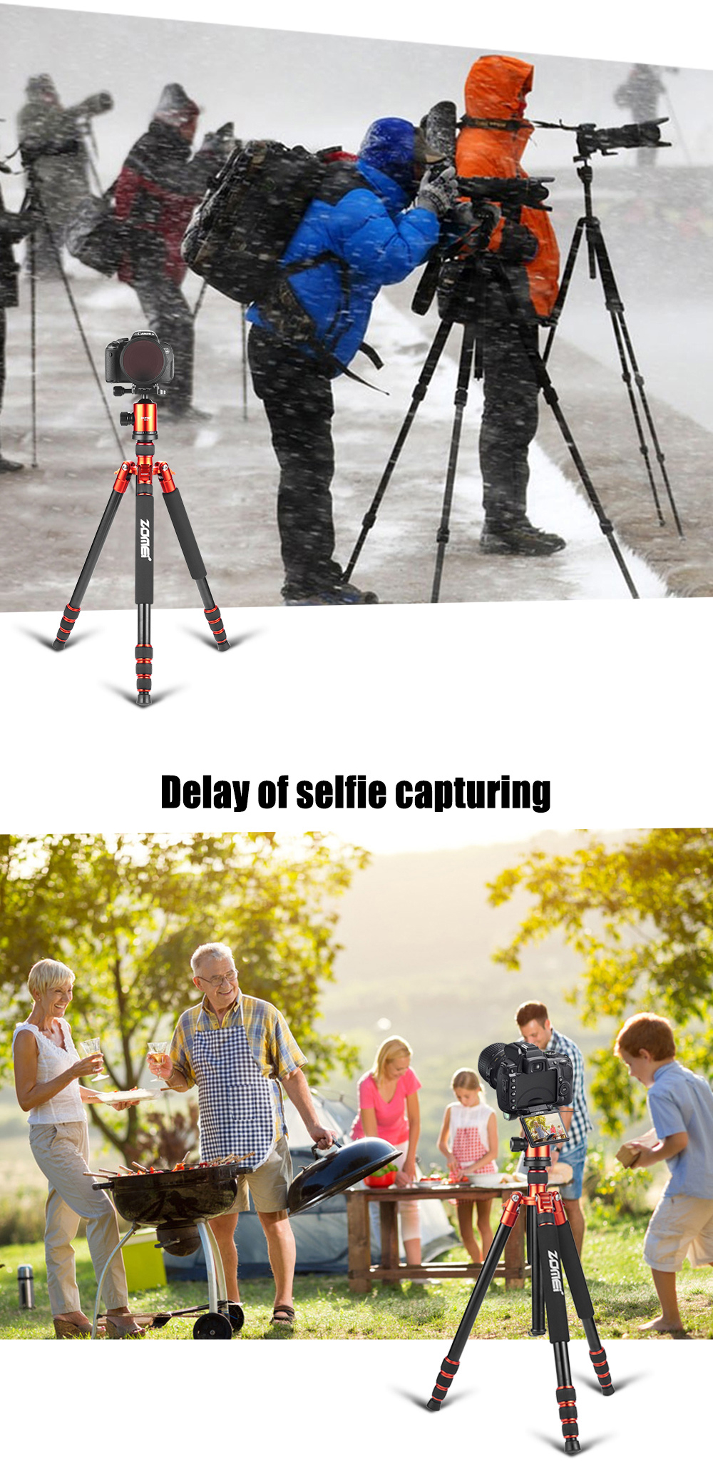 dslr camera stands for