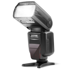 ZOMEi ZM-580T Auto Focus TTL High Sync Speed Flash Speedlight Flash with Radio Slave for Nikon DSRL Cameras