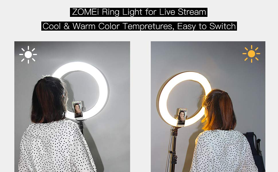 zomei makeup led light
