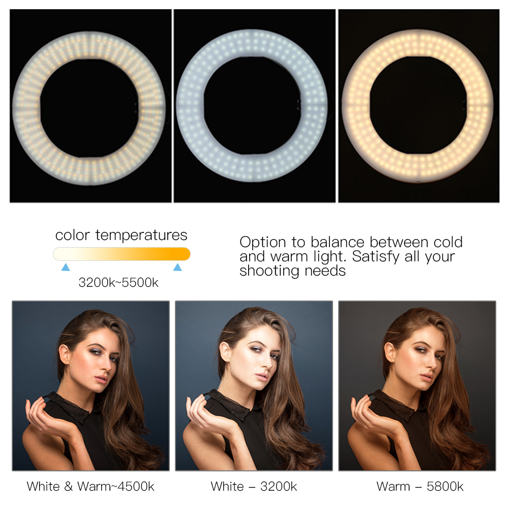 halo ring light