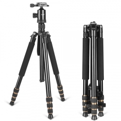 ZOMEi Z668 Tripod Monopod Compact and Stable for Taking Night Time Shots Suitable for Canon Nikon DSLR Camera