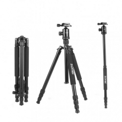 ZOMEi Z818 / Z888 Heavy Duty Camera Tripod 65 Inch for Professional Photographic Shooting for Landscape and Food Photography - Black