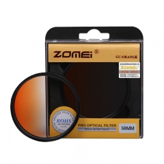 ZOMEi Ultra 52MM-82MM GC-Orange Gradient  Filter