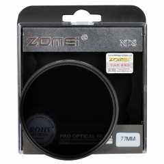 Zomei 52-82MM Neutral Density Filter Lens Set Kit ND2 ND4 ND8  for Canon Nikon