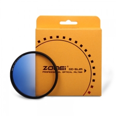 ZOMEi Ultra Slim GC-BLUE Gradient Neutral Density Filter