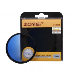 ZOMEi Ultra 52MM-82MM GC-blue Gradient  Filter