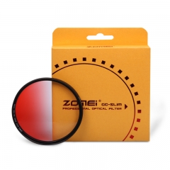 ZOMEi Ultra Slim GC-RED Gradient Neutral Density Filter
