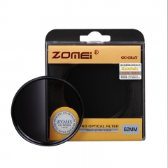 ZOMEi Ultra 52MM-82MM GC-GRAY Gradient Gray Neutral Density Filter