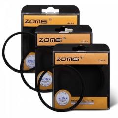 ZOMEI 52MM-82MM Filter Set with 4 Points Star Filter + 6 Points Star Filter + 8 Points Star Filter