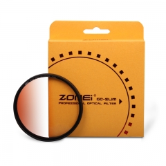 ZOMEi Ultra Slim GC-ORANGER Gradient Neutral Density Filter