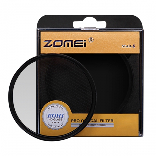 ZOMEI 52MM-82MM Filter Set with +4/+6/+8 Points Star Filter
