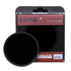 ZOMEi IR Filter GLASS Infrared X-Ray Filter Suitable for Crime Detection, Medical Photography