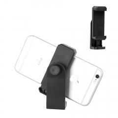 ZOMEI Universal Cell Phone Tripod Mount Adapter Holder with Padded Clip Fits for iPhone S amsung