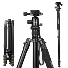 ZOMEI Q666(metal) Proline Tripod with Ball Head for Cameras