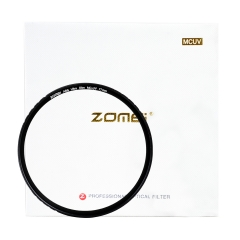 ZOMEi ABS Slim 49-82MM MCUV Filter for Canon Nikon Sony O lympus and Other DSLR Camerameras