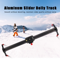Zomei Aluminum Alloy Camera Track Slider Video Stabilizer Rail with 4 Bearings for DSLR Camera DV Video Camcorder Film Photography