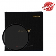 ZoMei ABS Slim MCND Filter  with No X Pattern on Images Adjustable Variable ND2-ND400 ND2-N400 Fader