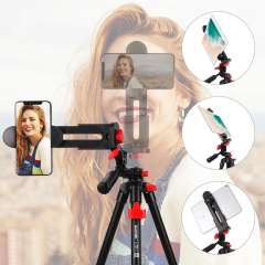 ZOMEi T70 with  remote control mobile phone holder 360 degree panoramic ball head tripod For phone
